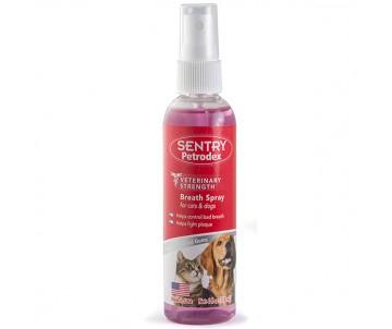 Sentry Petrodex Dental Spray спрей от зубного налета для собак и кошек