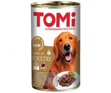 TOMi Dog Adult 3 kinds of poultry in gravy