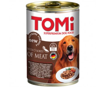 TOMi Dog 5 kinds of meat