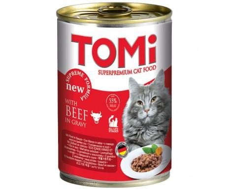 TOMi Cat beef
