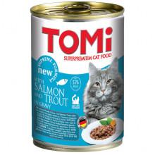TOMi Cat Adult Salmon Trout Gravy