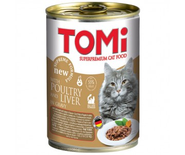 TOMi Cat poultry liver
