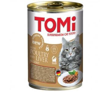 TOMi poultry liver птица печень консервы для котов