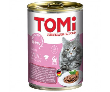 TOMi Cat veal in gravy