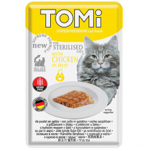 TOMi Cat Adult Sterilised Chicken in Jelly