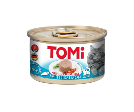 TOMi Cat Adult Salmon mousse