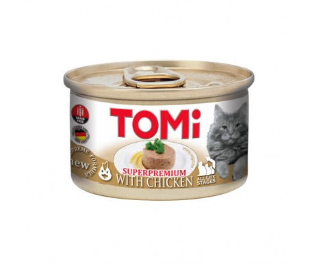TOMi Cat Adult Chicken mousse