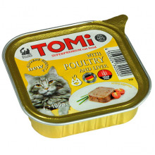 TOMi Cat Adult Poultry Liver pate