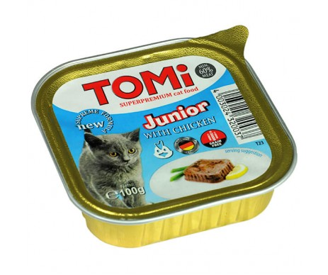 TOMi Cat junior Chicken pate