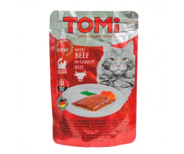 TOMi Cat Adult Beef in carrot jelly