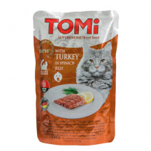 TOMi Cat Adult Turkey in spinach jelly