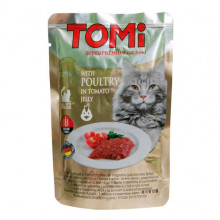 TOMi Cat Adult poultry in tomato jelly