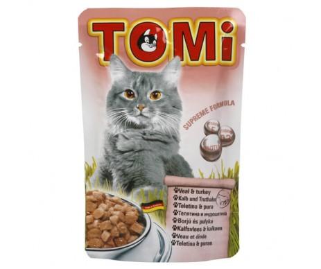 TOMi Cat Adult Veal Turkey in gravy