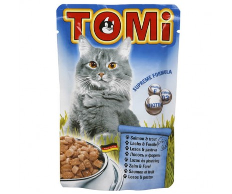 TOMi Cat Salmon&Trout