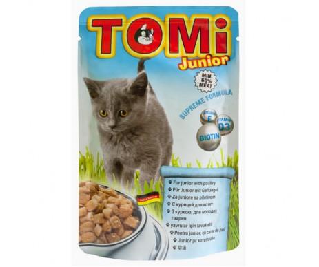 TOMi Cat junior Chicken in gravy