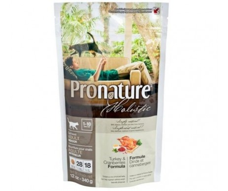 Pronature Cat Holistic Adult Turkey & Cranberries
