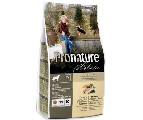 Pronature Holistic Dog Senior Oceanic White Fish Wild Rice