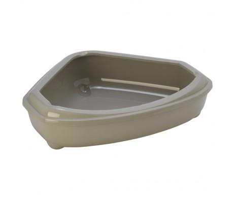 Moderna Сozy corner tray туалет для котов, угловой с бортиком