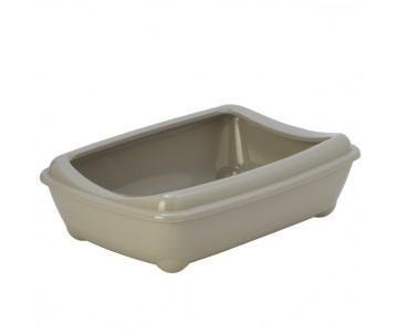 Moderna Arist-o-tray Gray туалет для кошек, с бортиком