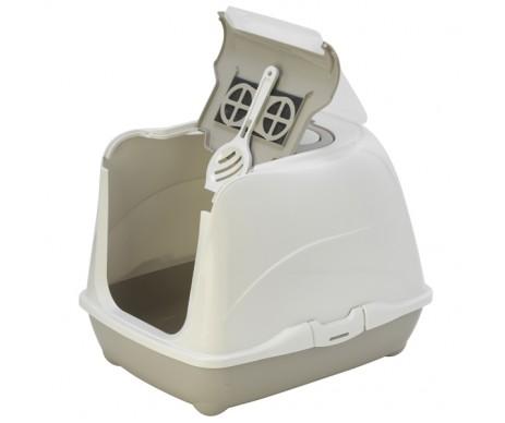 Moderna Flip Cat закрытый туалет для котов, с откидной крышкой