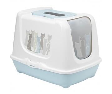 Moderna Trendy Cat Maasai закрытый туалет для котов c угольным фильтром и совком