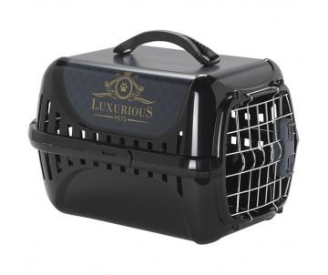 Moderna Trendy Runner Luxurious Pets – переноска для котов c металлической дверцей и замком IATA