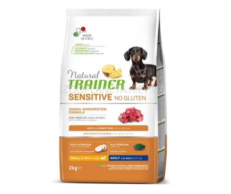 Trainer Natural Dog Adult Sensitive Mini Lamb whole cereals