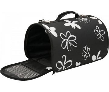 ZOLUX FLOWER транспортная сумка для животных маленькая черная