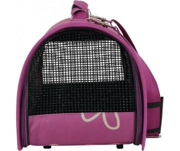 ZOLUX FLOWER транспортная сумка для животных маленькая фуксия