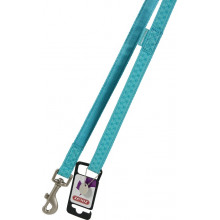 ZOLUX Mac Leather Turquoise поводок кожаный для собак