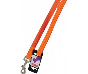 ZOLUX Mac Leather Orange поводок кожаный для собак