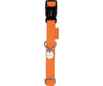 ZOLUX Mac Leather Orange ошейник кожаный для собак