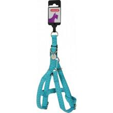 ZOLUX Mac Leather Turquoise шлея кожаная для собак