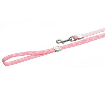 ZOLUX ENVY FLORA поводок 1,2 м розовый