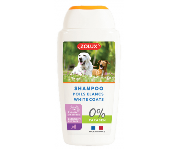 ZOLUX Shampoo for Dogs with White Hair Шампунь для белой шести