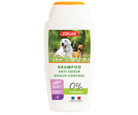 ZOLUX Shampoo Odour-control for dogs Шампунь нейтрализатор запаха