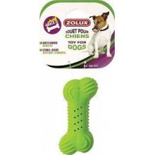 ZOLUX Игрушка резиновая хрустящая кость для собак