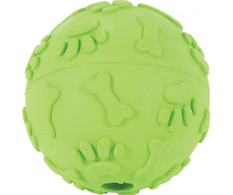ZOLUX Прочный резиновый смеющийся мяч, игрушка для собак