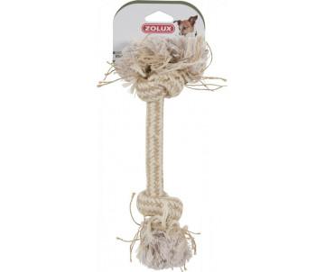 ZOLUX String Игрушка 2 натуральных узелка для собак