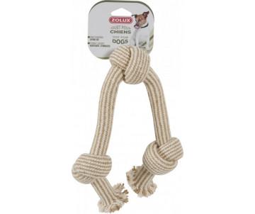 ZOLUX Веревка-игрушка 3 натуральных узла для собак