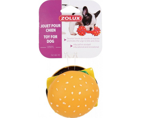 ZOLUX Игрушка гамбургер винил для собак