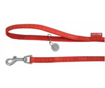 ZOLUX Mac Leather Red поводок кожаный для собак