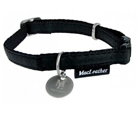 ZOLUX Mac Leather Blac ошейник кожаный для собак