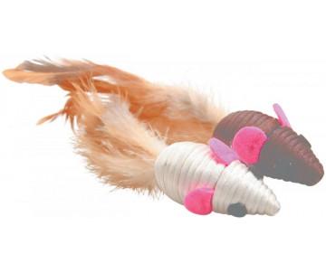 ZOLUX Игрушка для котов мыши с перьями