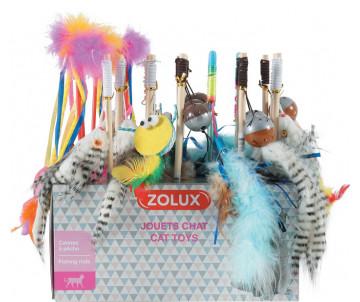 ZOLUX Игрушка-удочка для кошек в ассортименте