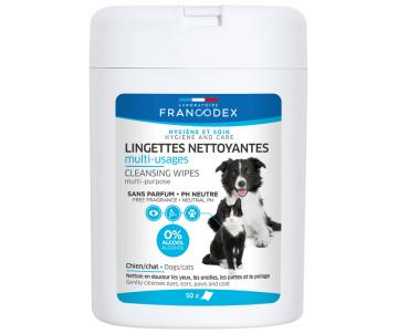 FRANCODEX PL Салфетки для чистки ушей для собак и кошек